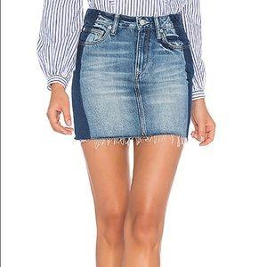 Lovers + Friends Elijah Mini Denim Skirt